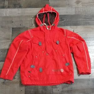 G.I.G.A. DX Red Hooded Pullover Jacket